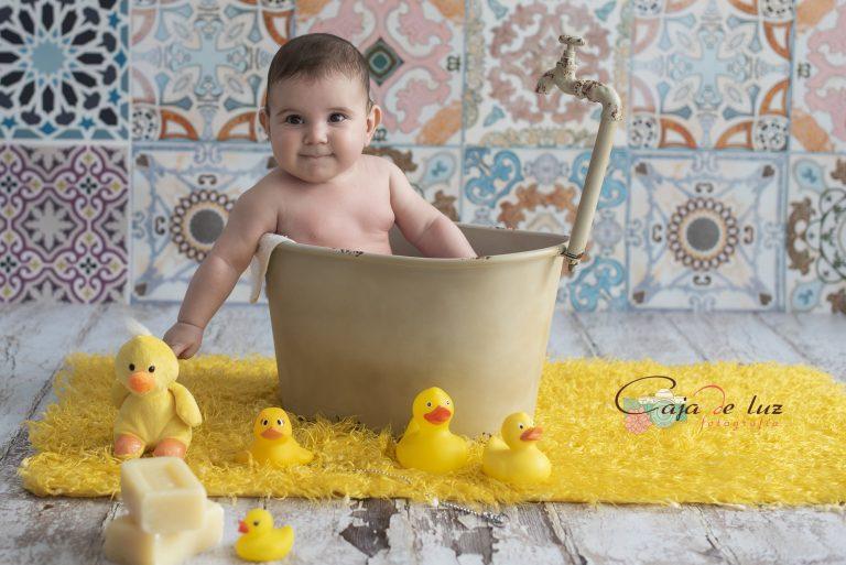 A Coruna sesiones bebe bebés reportaje