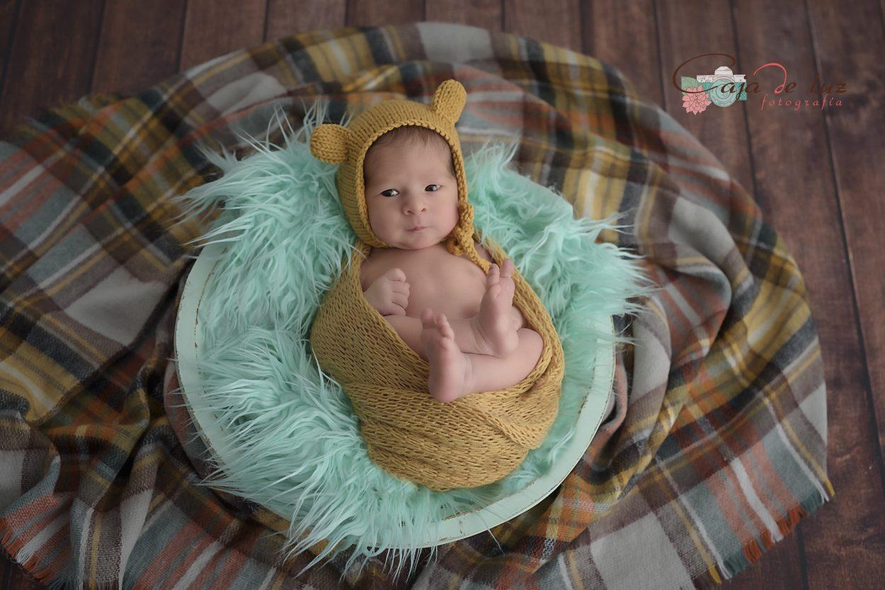 fotografo de recien nacido en a coruna